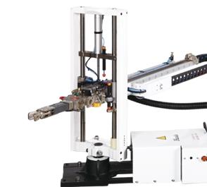 立式塑胶射出成型机专业机械手